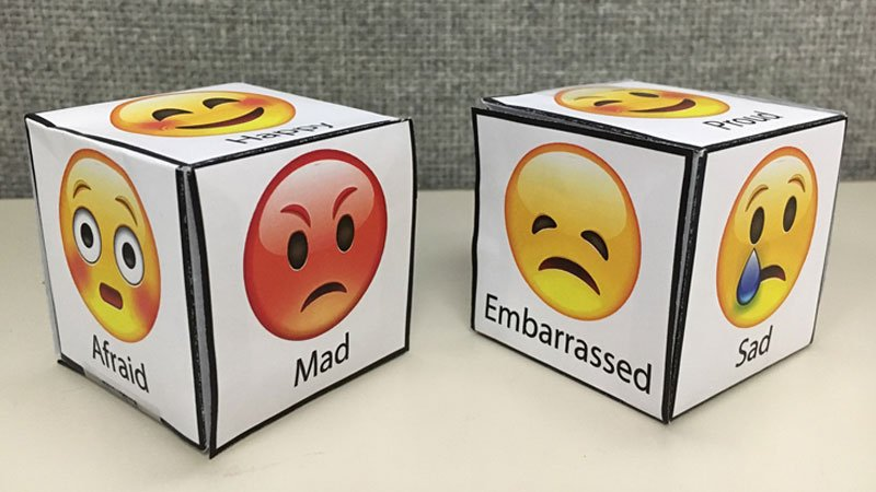 Feelings Dice Game Activity
