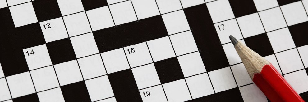 Crossword Puzzles Activity